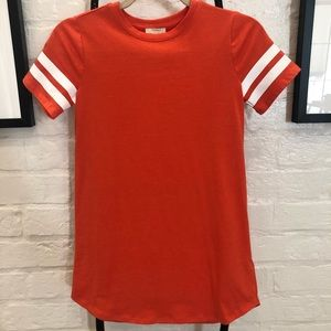 F21 Orange T-Shirt Dress Size 9/10 🧡